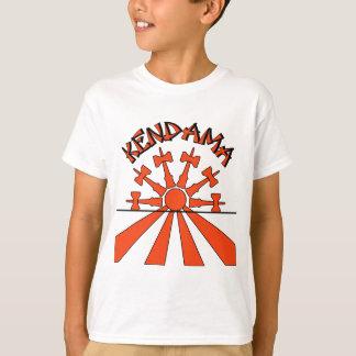 Kendama Sun, orange T-Shirt
