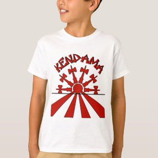 Kendama Sun, red T-Shirt