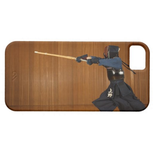 Kendo Fencer Practicing 2 iPhone 5 Cases