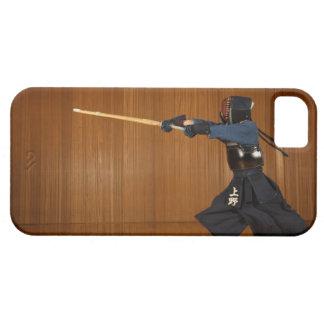 Kendo Fencer Practicing 2 iPhone SE/5/5s Case