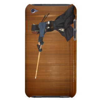 Kendo Fencer Practicing iPod Touch Case