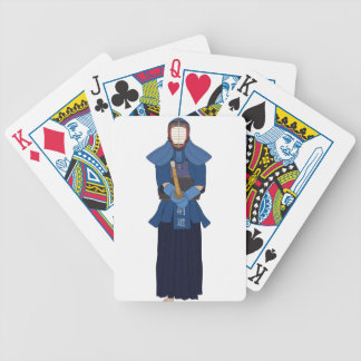 Kendo Fencing Bicycle Playing Cards