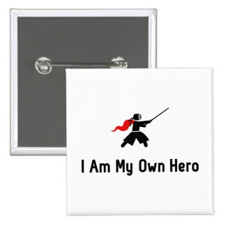 Kendo Hero Pinback Button