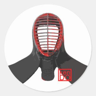 kendo men sticker