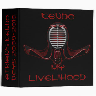 Kendo Photo and/Or Note Binder