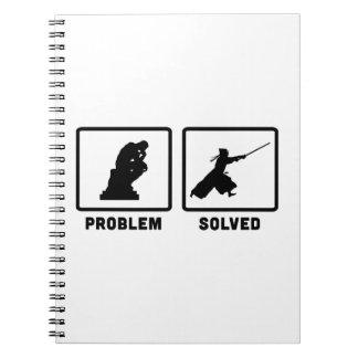 Kendo Spiral Notebooks