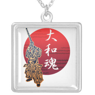 kendo yamatodamashii silver plated necklace