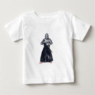 Kendoka Kendo Swordsman Watercolor Baby T-Shirt