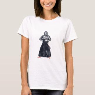 Kendoka Kendo Swordsman Watercolor T-Shirt