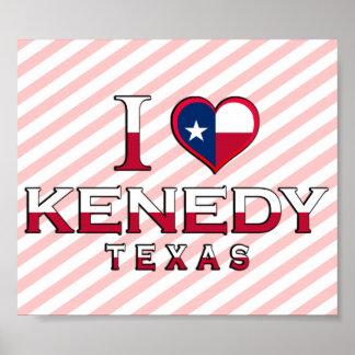 Kenedy, Texas Poster