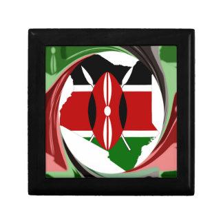 Kenia Hakuna Matata Caja De Regalo Cuadrada Pequeña