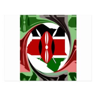 Kenia Hakuna Matata Tarjeta Postal