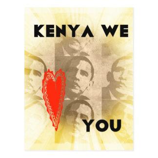 Kenia le amamos postales