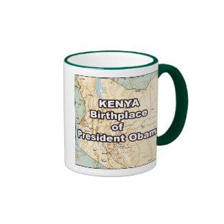 Kenia. Lugar de nacimiento de presidente Obama Taza