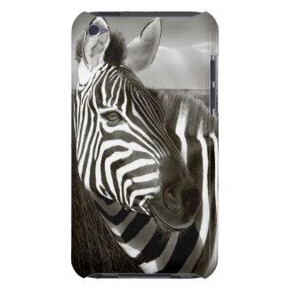 Kenia. Negro y blanco de la cebra y del llano Case-Mate iPod Touch Coberturas