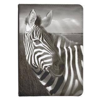 Kenia. Negro y blanco de la cebra y del llano Funda De Kindle Touch