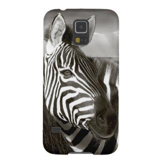 Kenia. Negro y blanco de la cebra y del llano Fundas De Galaxy S5