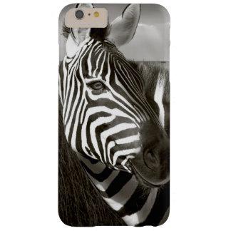 Kenia. Negro y blanco de la cebra y del llano Funda De iPhone 6 Plus Barely There