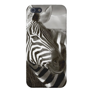 Kenia. Negro y blanco de la cebra y del llano iPhone 5 Protectores