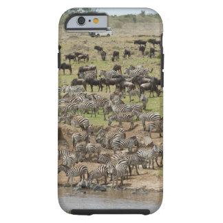 Kenia, ninguna agua ninguna expedición del río de funda resistente iPhone 6
