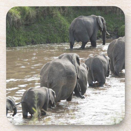 Kenia, ninguna agua ninguna expedición del río de  posavasos