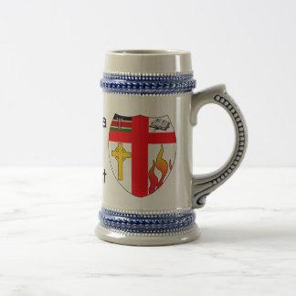 Kenia para Cristo Jarra De Cerveza