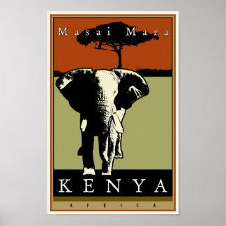 Kenia Póster