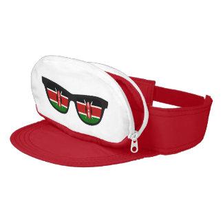 Kenia sombrea el Casquillo-Saco Visera