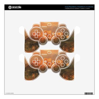 Kenilworth Castle by William Turner PS3 Controller Skin