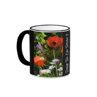 Kenilworth Garden`- Done Tai Chi today? Ringer Mug
