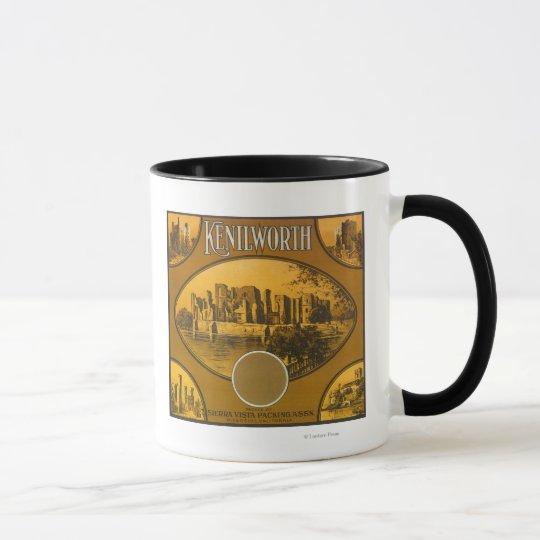 Kenilworth Orange LabelRiverside, CA Mug
