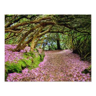 Kenmare Rhododendron Tunnel 4.25x5.5 Paper Invitation Card