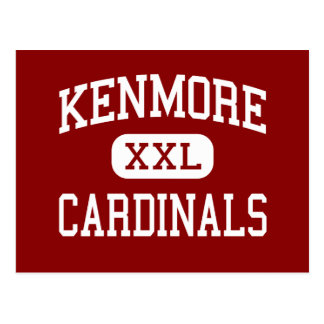 Kenmore - Cardinals - High School - Akron Ohio Post Cards