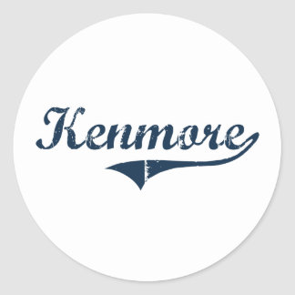 Kenmore New York Classic Design Classic Round Sticker