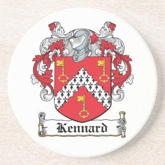 Kennard Family Crest Drink Coaster