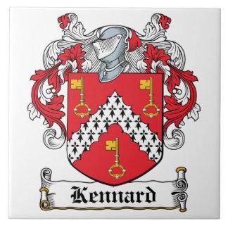 Kennard Family Crest Tile