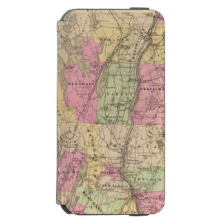 Kennebec County, Maine iPhone 6/6s Wallet Case