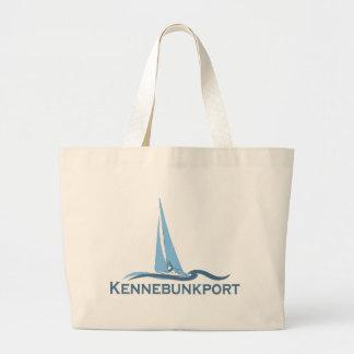 Kennebunkport. Large Tote Bag