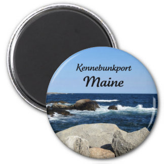 Kennebunkport, Maine 2 Inch Round Magnet