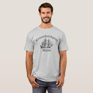 Kennebunkport Maine Tall Ship Shirt