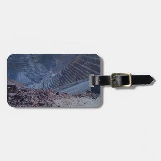 Kennecott Copper Mine Bag Tag