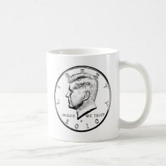 KENNED HALF DOLLAR COFFEE MUGS
