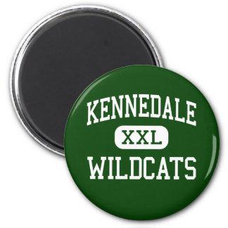 Kennedale - gatos monteses - alto - Kennedale Teja Imán De Nevera