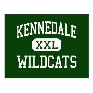 Kennedale - gatos monteses - joven - Kennedale Postal