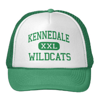 Kennedale - gatos monteses - joven - Kennedale Tej Gorros Bordados