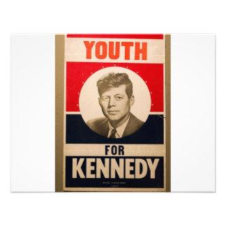 Kennedy 1960 anuncio personalizado