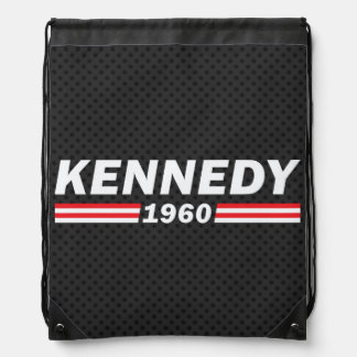 Kennedy 1960 (John F. Kennedy, JFK) Drawstring Backpack