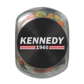 Kennedy 1960 (John F. Kennedy, JFK) Glass Jars