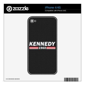 Kennedy 1960 (John F. Kennedy, JFK) Skin For The iPhone 4S