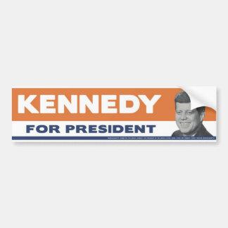 Kennedy 1960 para el presidente pegatina para el p pegatina de parachoque